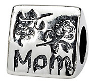 Prerogatives Sterling Silver Mom Trilogy Bead - J111322