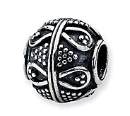 Prerogatives Sterling Timeless Artisan Bead - J113322
