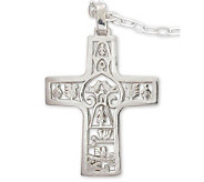 Novica Artisan Crafted Cross of Life Pendantw/Chain - J298522