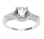 Judith Ripka Sterling Silver Diamonique Ring - J311422