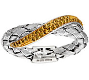 Woven Diamond Band Ring, Sterling, 1/7 cttw, by Affinity - J320722