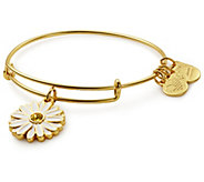 Alex and Ani Daisy Charm Bangle - UNICEF - J381522