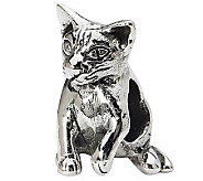 Prerogatives Sterling Abyssinian Cat Bead - J299523
