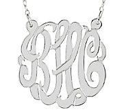 Sterling 7/8 Personalized Script Monogram Necklace - J337623