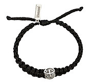 My Saint My Hero Mens Silvertone ONE Blessin gBracelet - J339523
