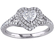Heart-Shaped Diamond Ring, 9/10 cttw, 14K Goldby Affinity - J342623