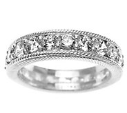 Judith Ripka Sterling Diamonique Eternity Ring - J311424