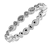 Simply Stacks Sterling & Diamond 2.25mmEternityRing - J299225