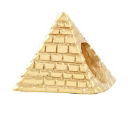Prerogatives 14K Yellow Gold-Plated Sterling Pyramid Bead - J302825