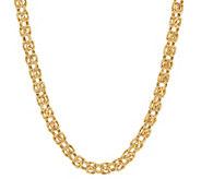 EternaGold 18 Polished Byzantine Necklace 14KGold - J389625
