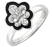 Simply Stacks Sterling Polished Fleur De Lis Ring - J308926