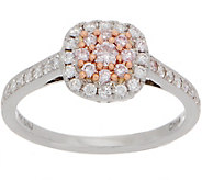 Affinity Diamond Natural Pink Ring, 1/2cttw, 14K Gold - J357426