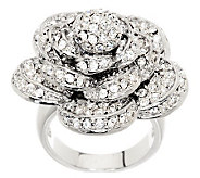 Wendy Williams Dimensional Pave Rose Ring - J266427