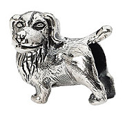 Prerogatives Sterling Golden Retriever Bead - J299527