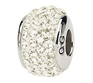 Prerogatives Sterling Cream Full Swarovski Crystal Bead - J299627