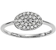 Dainty Designs 14K 1/5 cttw Diamond Oval Ring - J345327
