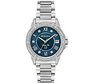 Womens Marine Star Diamond Accent Bracelet Watch - J375127