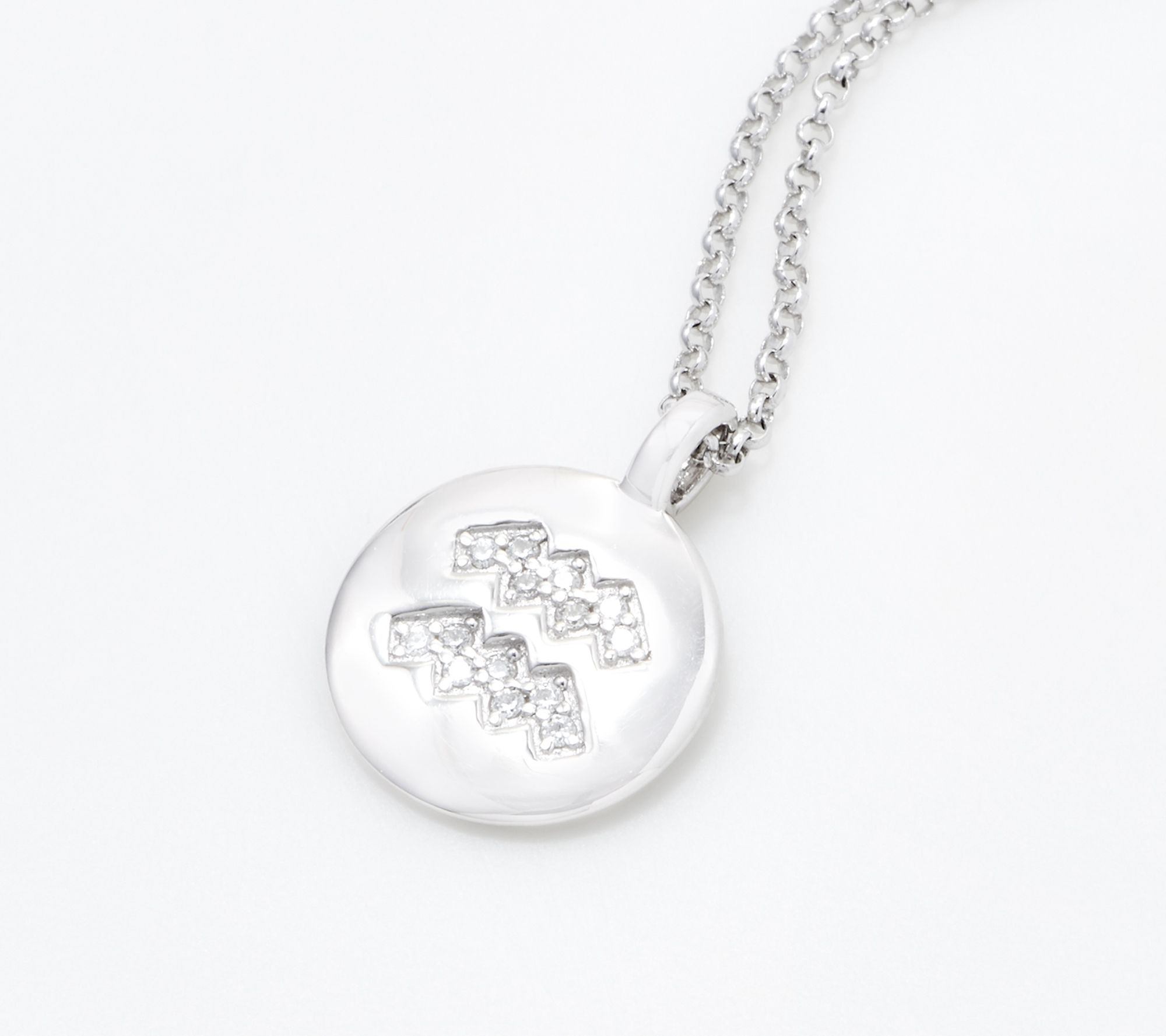 LA Chargers Necklace Football Fan Gift Idea