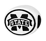 Sterling Silver Mississippi State Bead - J300829