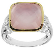 Judith Ripka Sterling, Mother-Of-Pearl DoubletRing - J341729