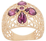 Adi Paz Gemstone Accent Graduated Filigree Band Ring, 14K - J357029