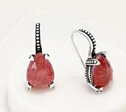 Stephen Dweck Sterling Silver Pear Drop Earrings - J360929