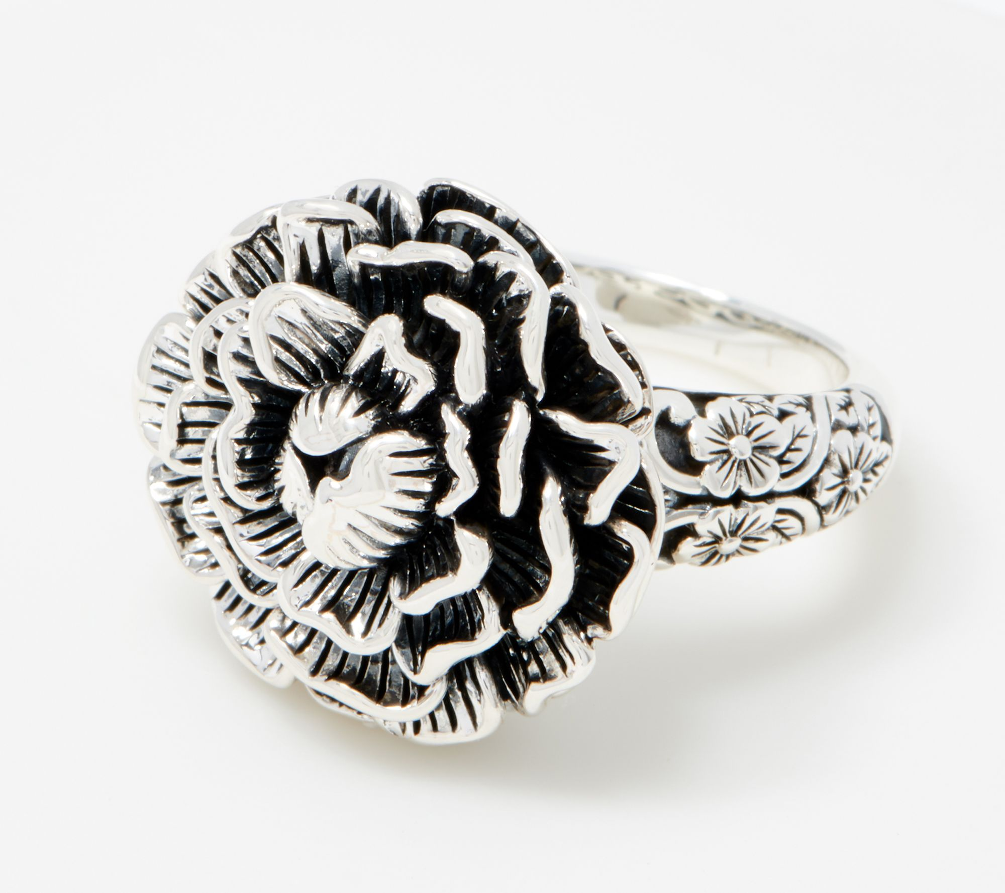 34% off this carved peony ring