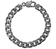 Or Paz Mens Sterling Silver 8 Bold Curb LinkBracelet, 26.0g - J385429