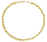 EternaGold 6-3/4 Three-Row Rope Chain Bracelet, 14K Gold - J386229