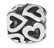 Prerogatives Sterling Multi-Heart Bali Bead - J109430