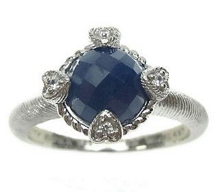 Judith Ripka Sterling Birthstone Ring