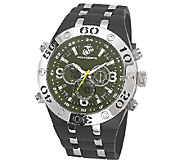 Wrist Armor Mens U.S. Marine Corps C23 Green &Black Watch - J316330