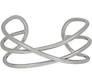 Linea by Louis DellOlio Criss Cross Cuff Bracelet - J351730