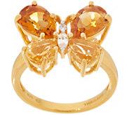 Gemstone Butterfly Ring, Sterling Silver - J356630