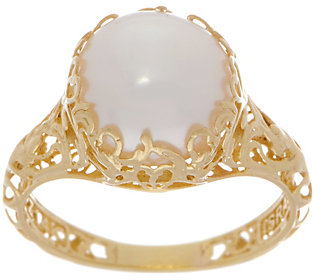 Adi Paz Cultured Pearl Filigree Ring, 14K