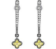 Barbara Bixby Sterling & 18K White Topaz Earrings - J377430