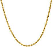 14K Diamond Cut 22 Rope Necklace, 28.4g - J378430