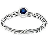 Peter Thomas Roth Sterling Sapphire Signature Romance Ring - J379630
