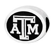 Sterling Silver Texas A & M University Bead - J300731