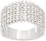 Imperial Silver Wide Wheat Band Ring, Sterling Silver - J354831