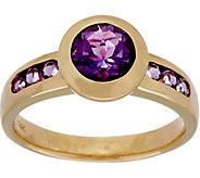 As Is Semi- Precious Gemstone Solitaire Ring, 14K, 1.35 cttw - J358031
