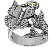 Or Paz Sterling Silver Gemstone Butterfly Ring - J359631
