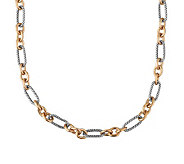 Carolyn Pollack Opulence Mixed Metal 18 ChainNecklace - J313732