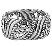 Carolyn Pollack Signature Sterling Band Ring - J343833