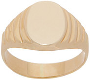 EternaGold Signet Ring, 14K Gold - J357233