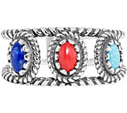 American West Classics Multi-Stone Band Ring - J374933