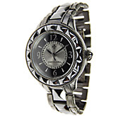Judith Ripka Stainless Steel & Ceramic Watch - J384133