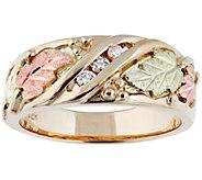 Black Hills Gold Diamond Accent Ring, 10K/12K Gold - J390033