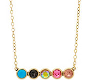 LOGO Links by Lori Goldstein Inner Circle Necklace - J354534