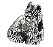 Prerogatives Sterling Miniature Schnauzer Bead - J299535